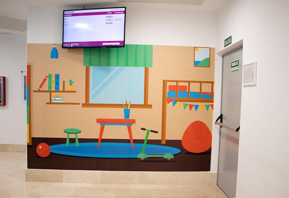 decoración hospital