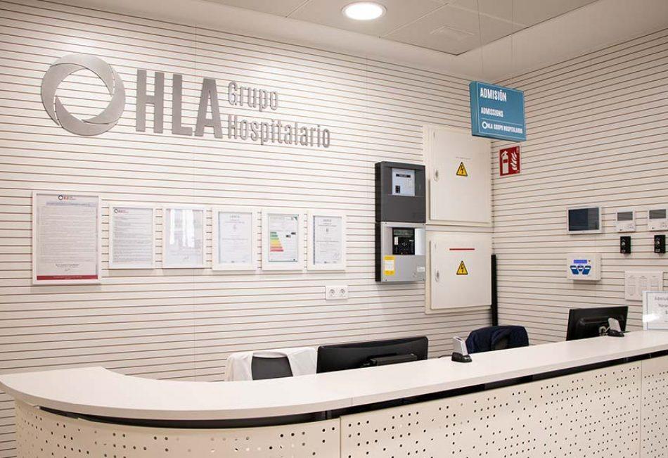 Recepción Hospital