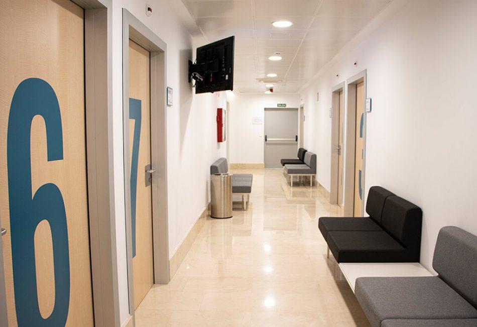 Zona de consultas especializadas